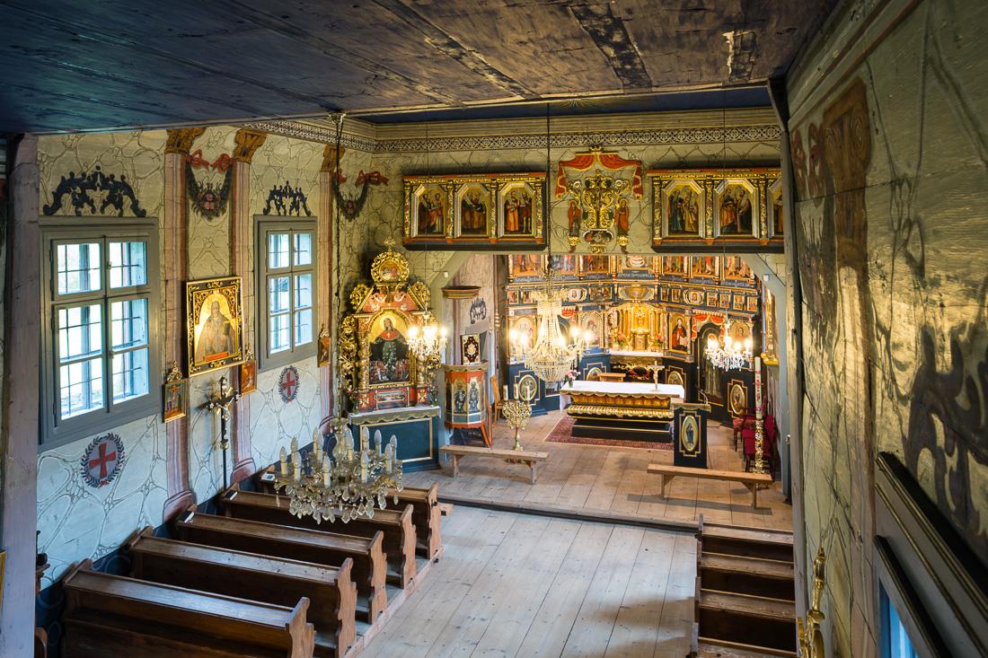 Bogusza, dawna cerkiew Św. Dymitra, obecnie kościół pw. św. Antoniego Padewskiego