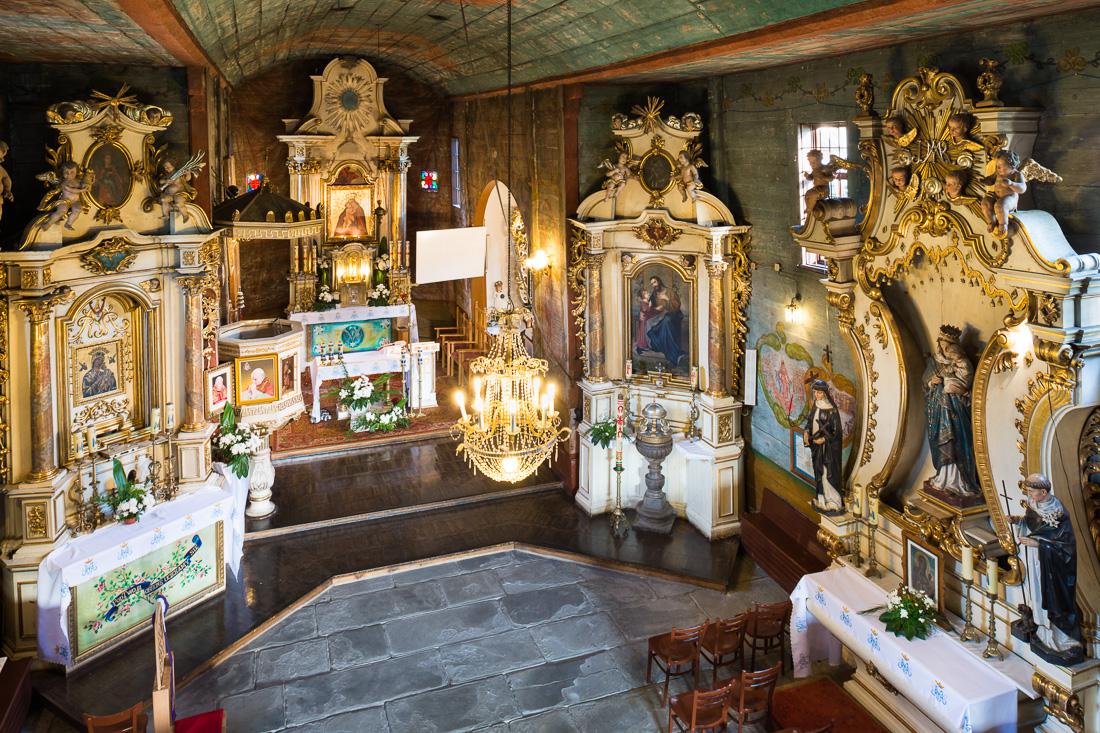 Chomranice, kościół Imienia NMP