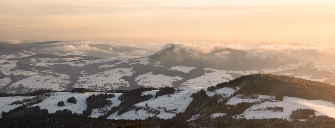 Góry Grybowskie - Dolina Rzeki Białej, Sądecczyzna, Polska