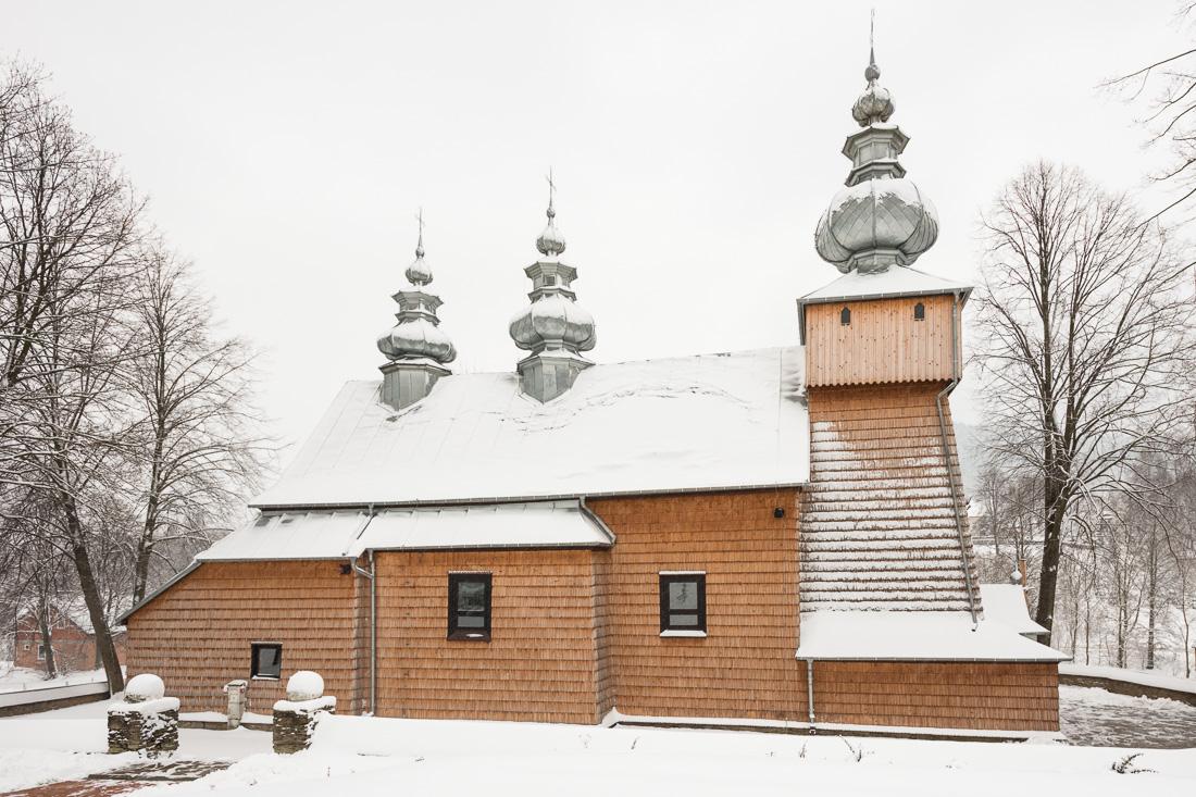 Binczarowa, dawna cerkiew pw. św. Dymitra Męczennika, obecnie kościół pw. św. Stanisława Biskupa Męczennika