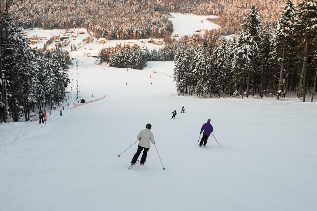 Sport: narty, Cieniawa, gmina Grybów