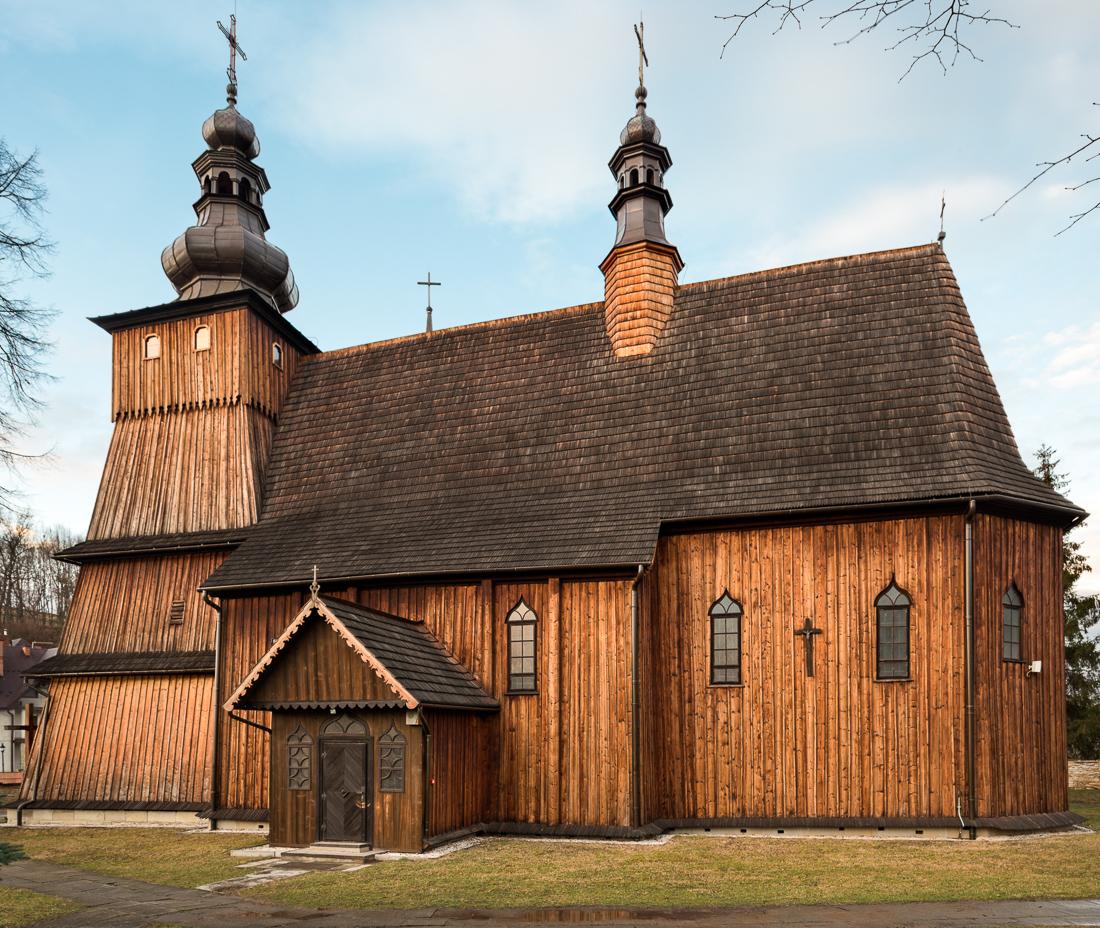 Krużlowa Wyżna, kościół Narodzenia NMP - wirtualna wycieczka