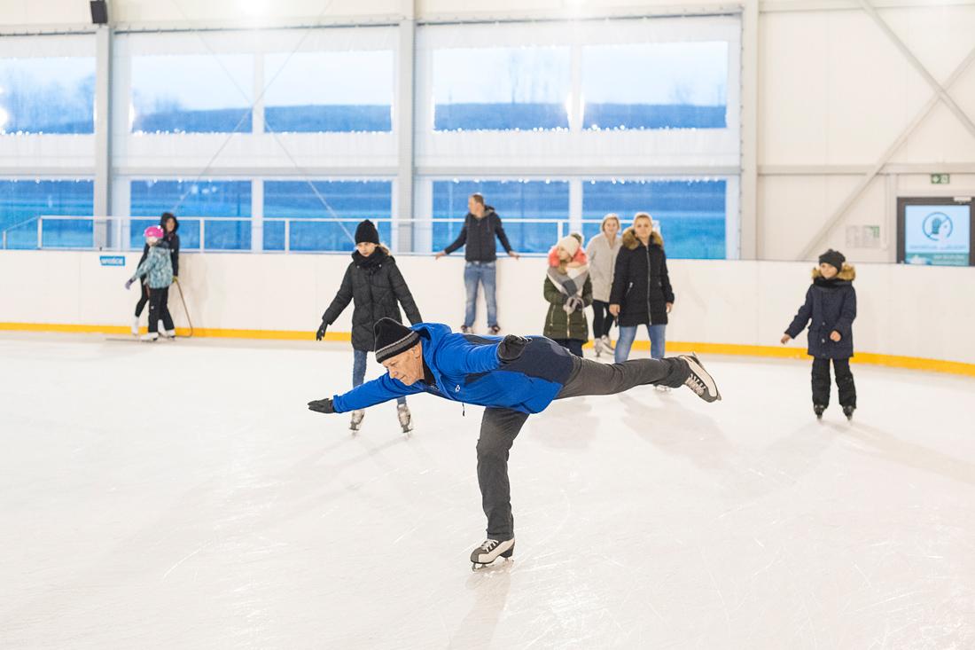 Sport: lodowisko, gmina Grybów