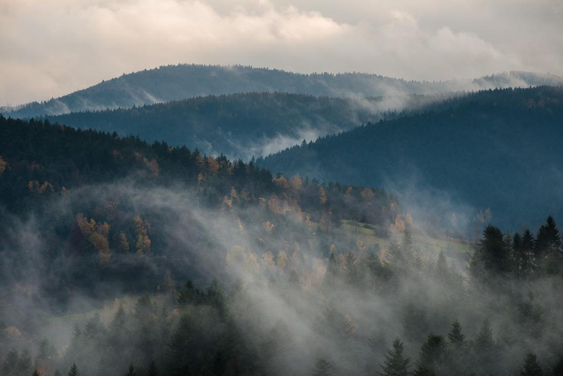 Beskid Niski, gmina Kamionka Wielka