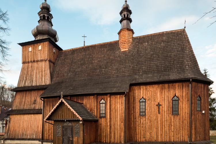 Wirtualne wycieczki – Szlak Architektury Drewnianej, Sądecczyzna