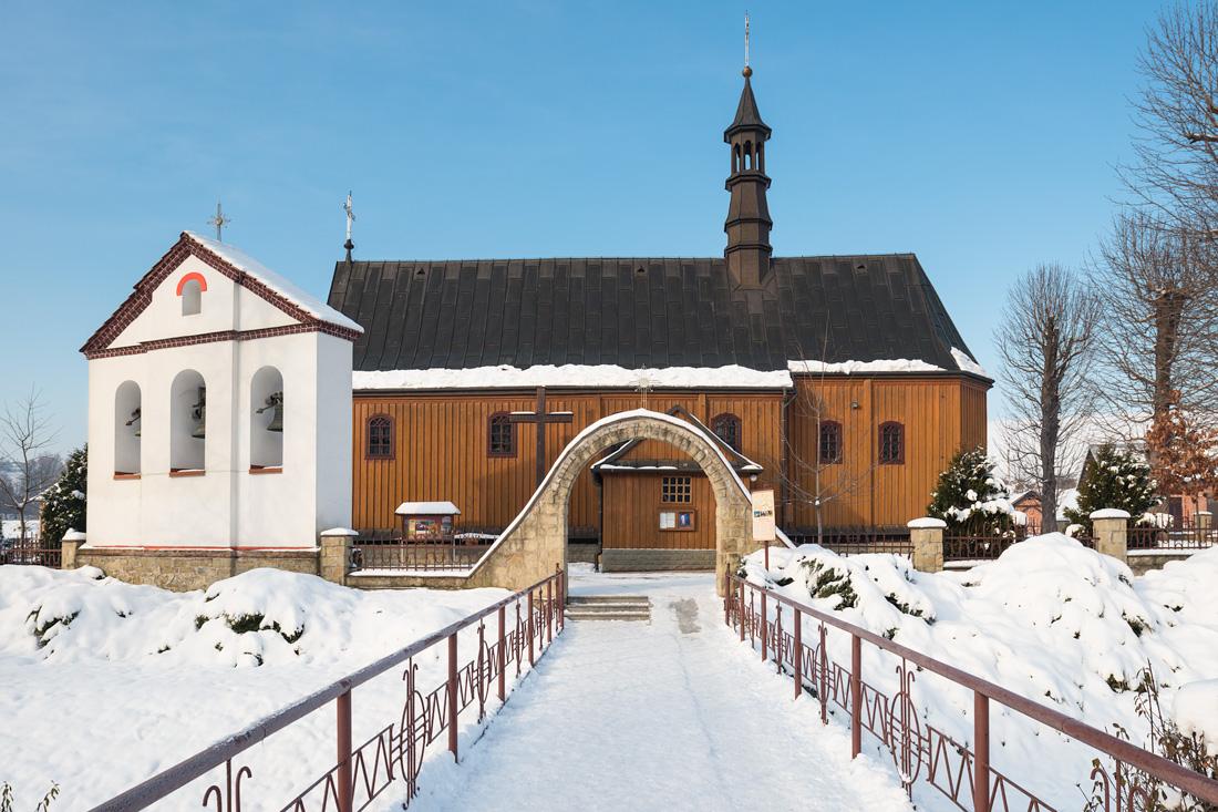 Polna, kościół pw. Św. Andrzeja Apostoła - wirtualna wycieczka