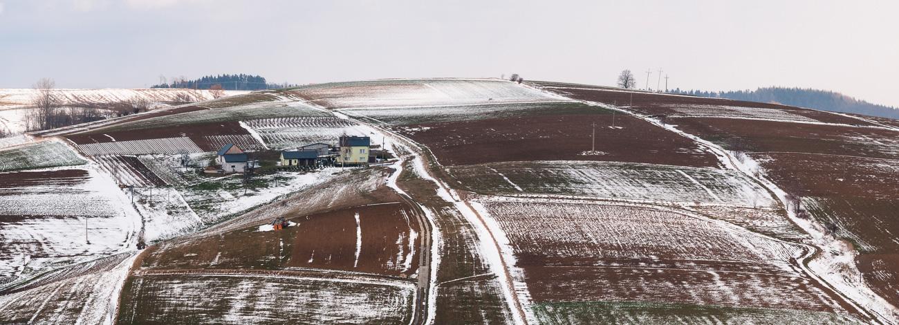 Pogórze Rożnowskie (Rożnowskie Foothill), Poland