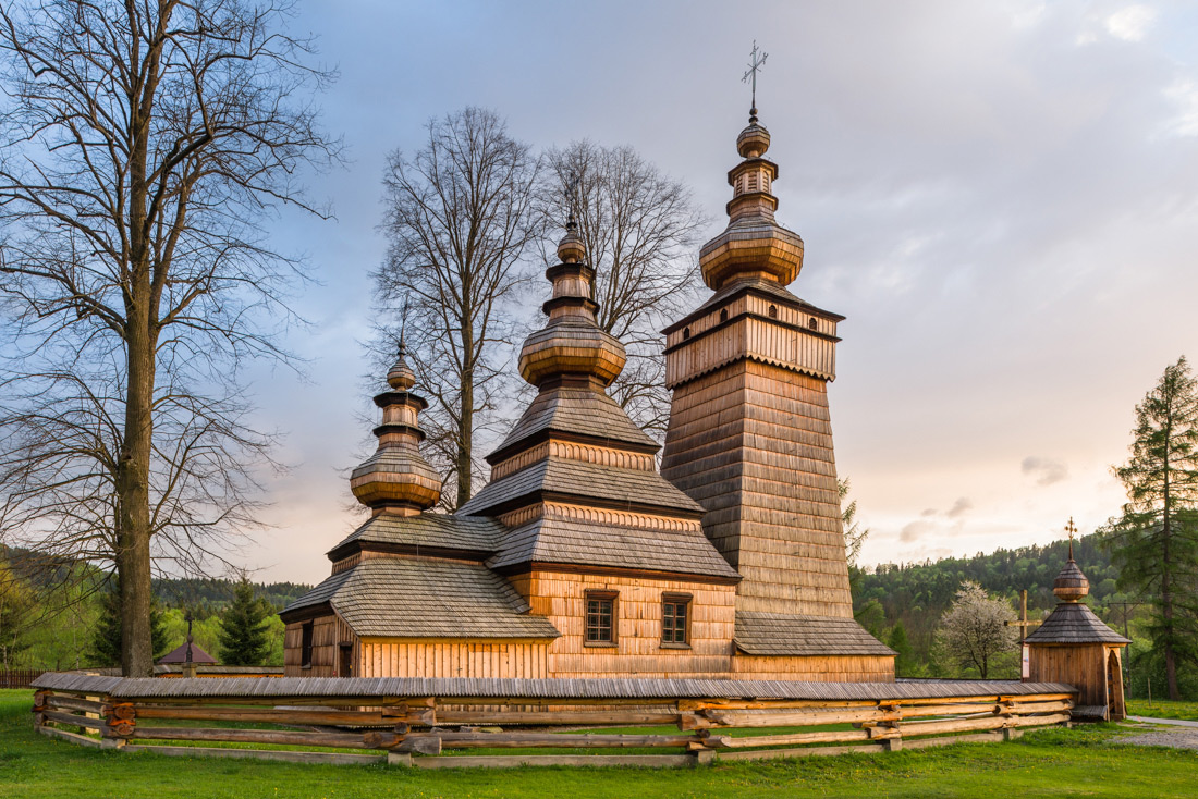 Lemko orthodox church of ST Paraskeva in Kwiatoń - UNESCO list