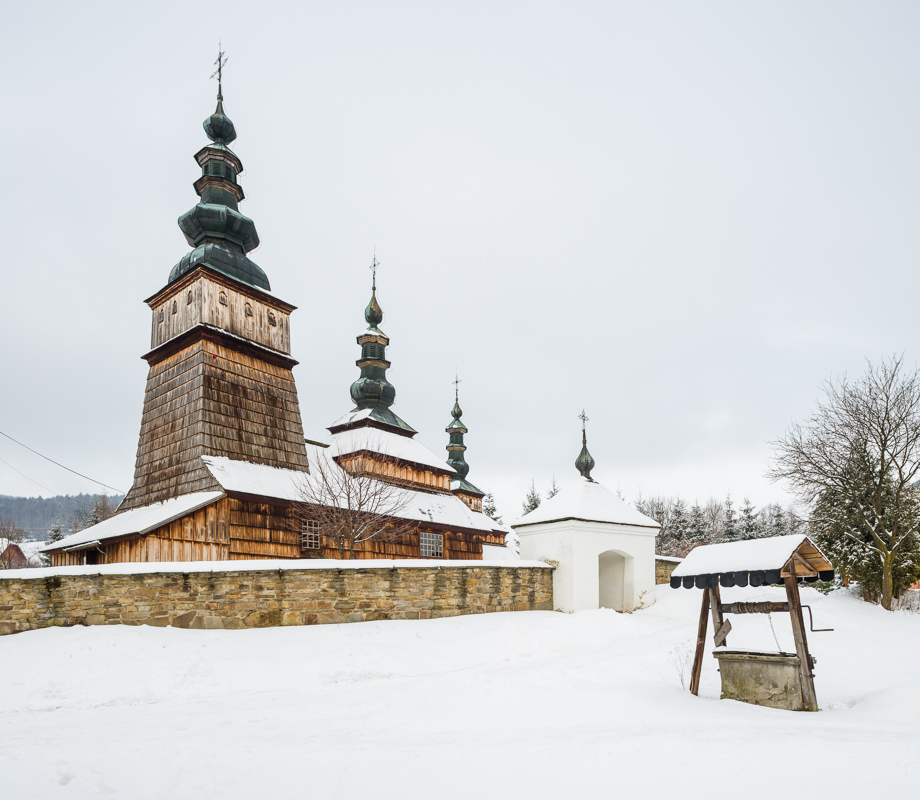 Lemko Orthodox Church of The Protection of Our Lady, Owczary, Poland - UNESCO List.