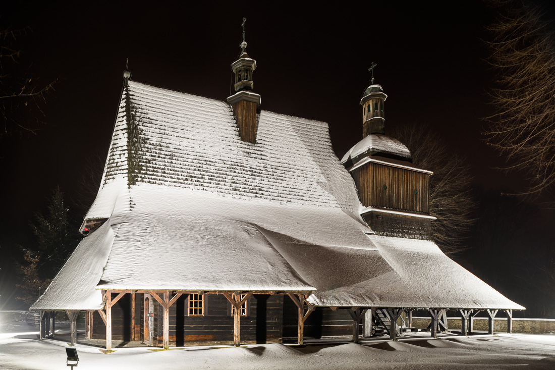 ST Phillip's and ST Jacob's church in Sękowa - UNESCO list